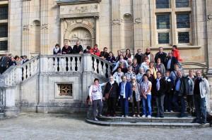 Mélodie et Harmonie en visite au château de Joinville