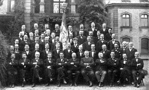 Choristes en 1925